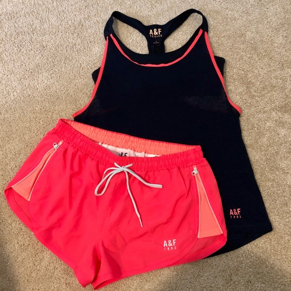 Abercrombie & Fitch Other - Abercrombie & Fitch Active tank and shorts